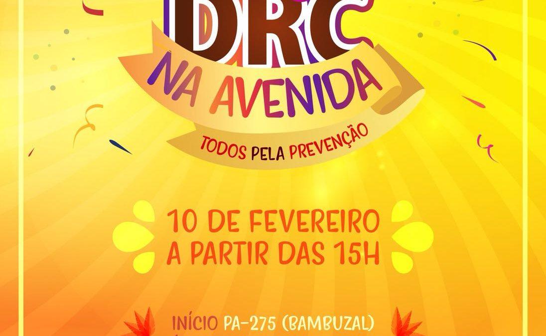 Todos pela prevenção: Neste carnaval, DRC e parceiros entrarão na avenida por causa nobre