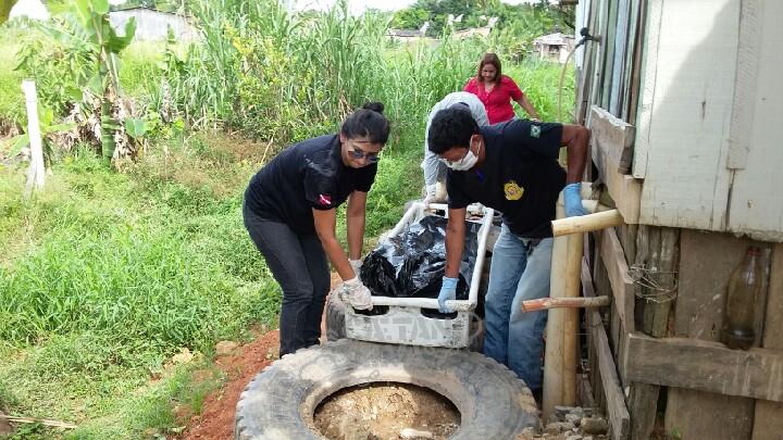 Corpo de menina é encontrado em Igarapé no bairro Novo Brasil