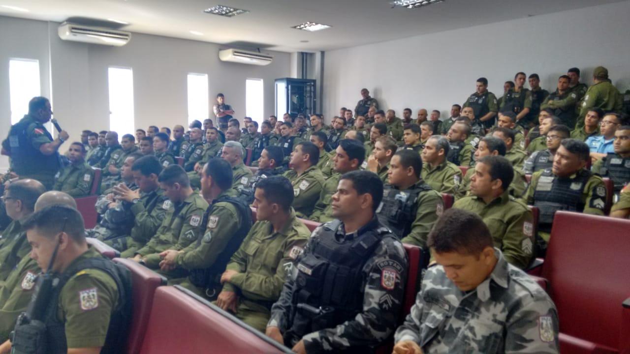 Comandante Geral da PM visita Parauapebas e ouve demandas da tropa