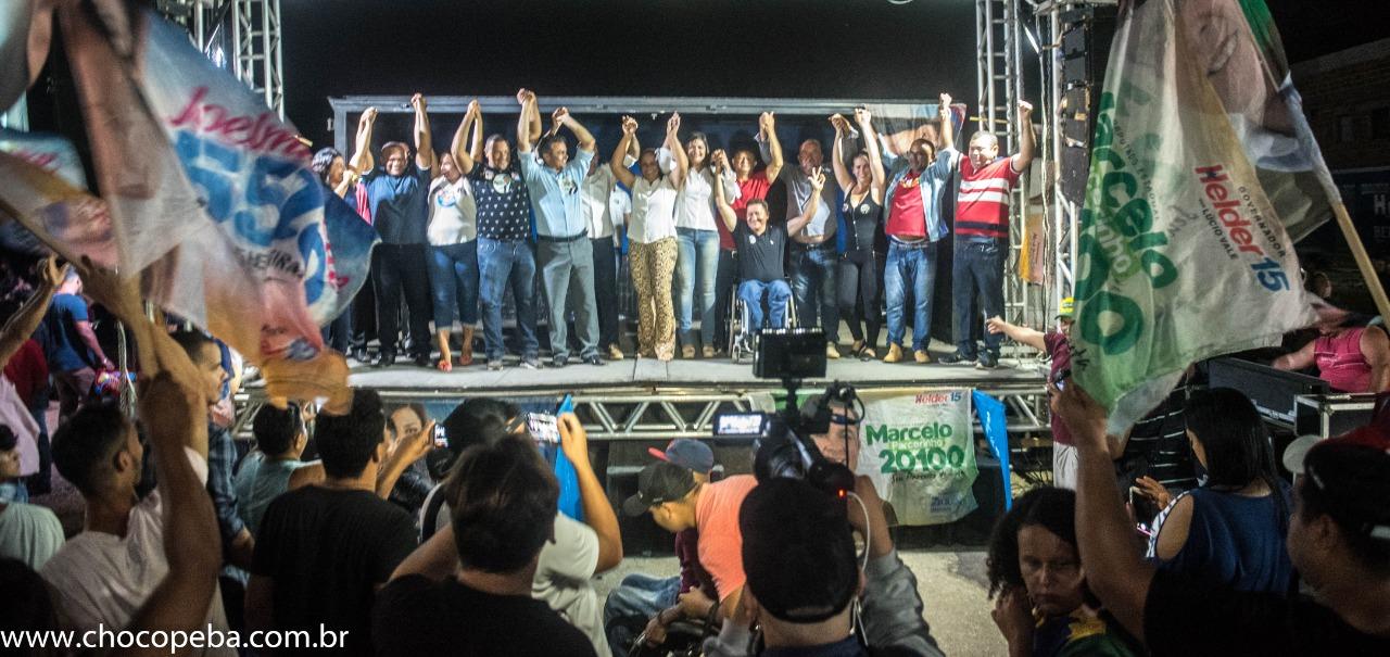 Mais de 5 mil pessoas participam de reunião de Joelma Leite e Marcelo Parcerinho na Chácara Rio Verde