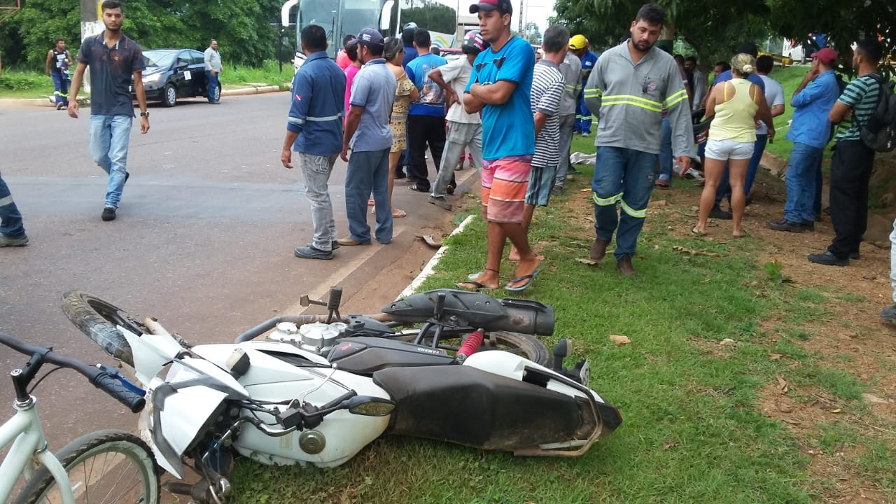 Enfermeira Verinha e técnico de edificação morrem em acidente de moto na Avenida Liberdade