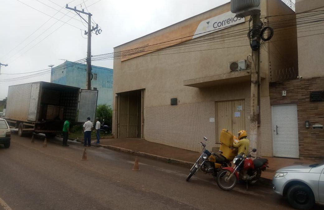 Centro de distribuição dos Correios é arrombado em Parauapebas
