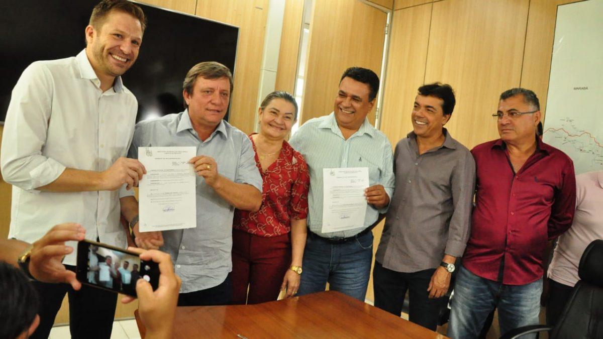 Representantes da classe empresarial de Parauapebas assumem pasta do Desenvolvimento