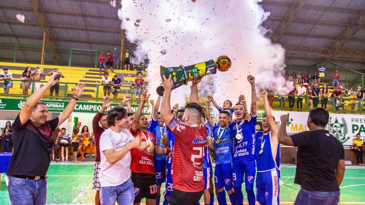 Melhores equipes do Futsal de Parauapebas são premiadas na final do Campeonato Municipal