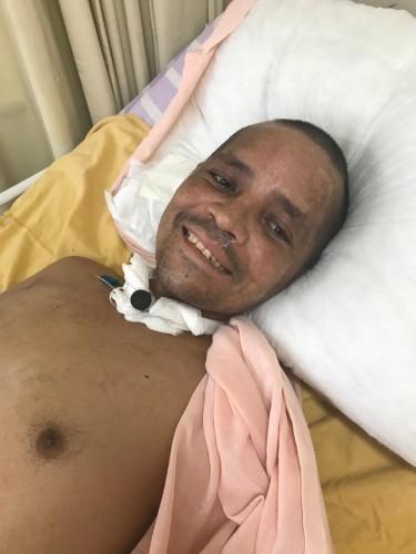'Morador de rua' é internado em Manaus e diz que irmão mora em Parauapebas