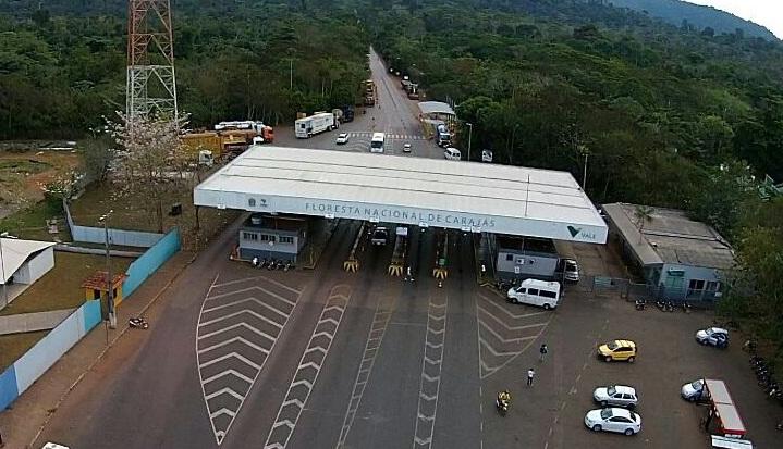 Estacionamento externo da portaria de acesso a carajás será reestruturado