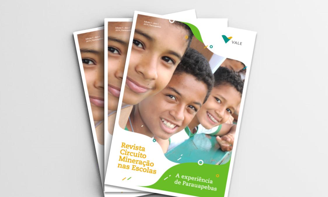 Circuito Mineração nas Escolas lança revista com artigos sobre a experiência de professores da rede pública de Parauapebas