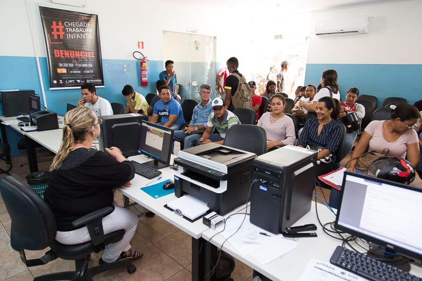 Sine de Parauapebas mantém atendimento e diz que encaminhou mais de 680 pessoas esta semana