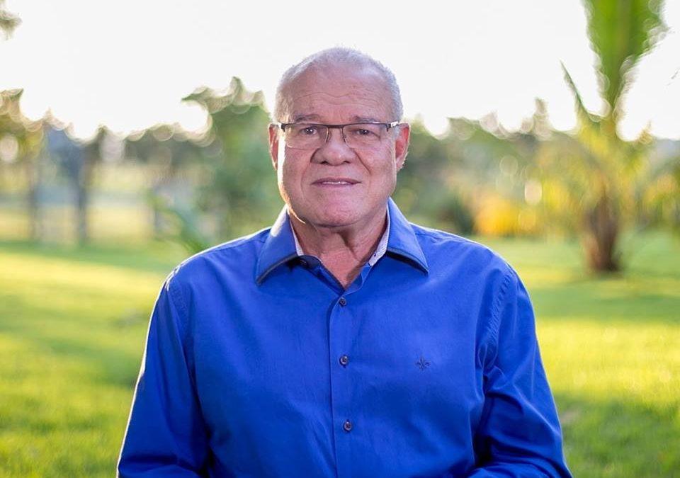 Ex-prefeito Valmir Mariano será homenageado em celebração aos 30 anos de Parauapebas