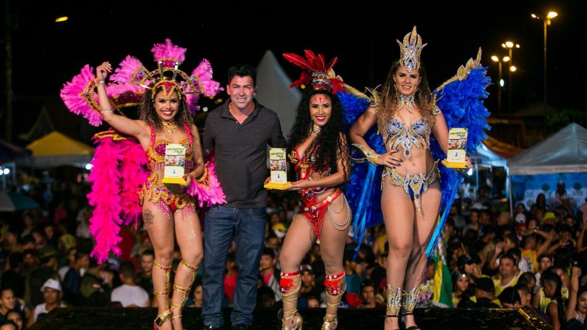 Concurso de musa carnavalesca marca o encerramento do carnaval em Curionópolis