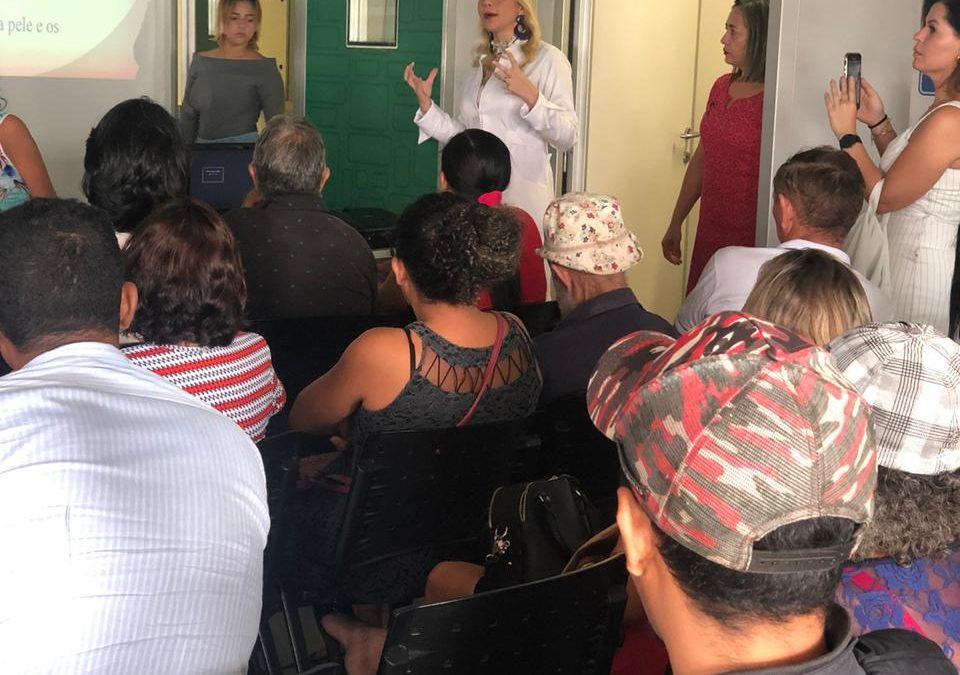 Campanha Janeiro Roxo reforça ações de prevenção contra Hanseníase em Parauapebas