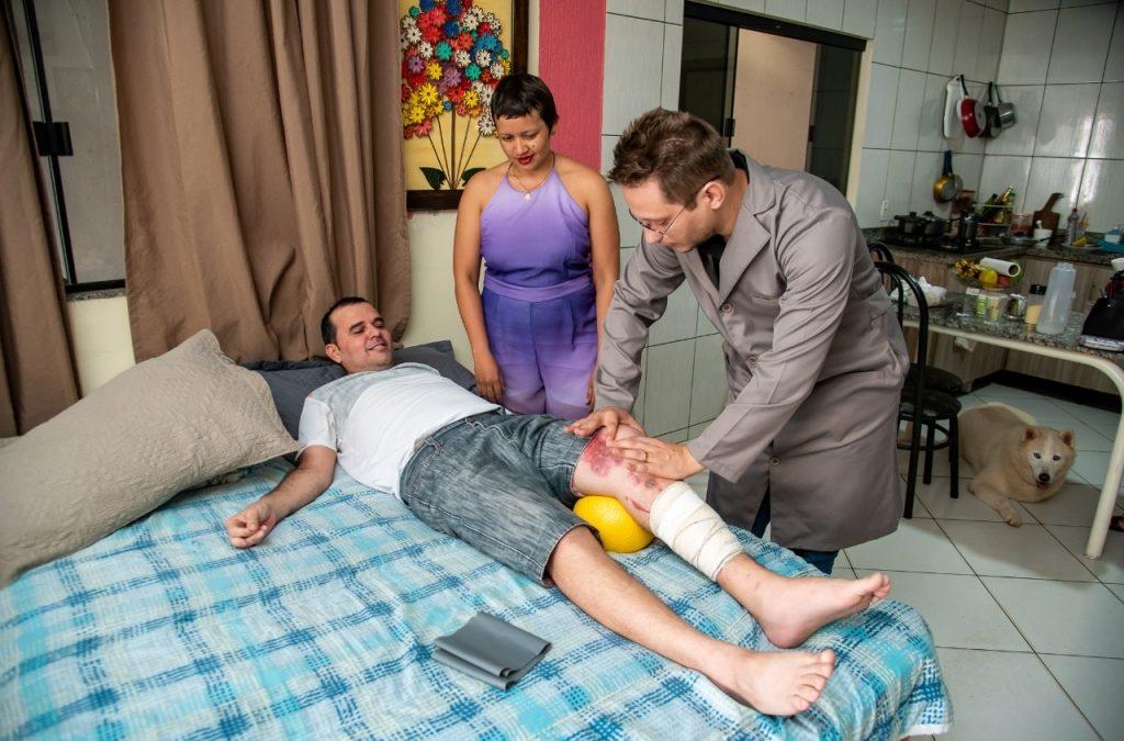 Saúde de Parauapebas cuida de 86 pacientes na própria residência
