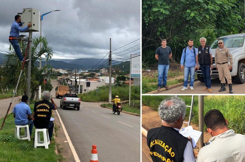 Radares de trânsito em Parauapebas recebem aferição do Inmetro