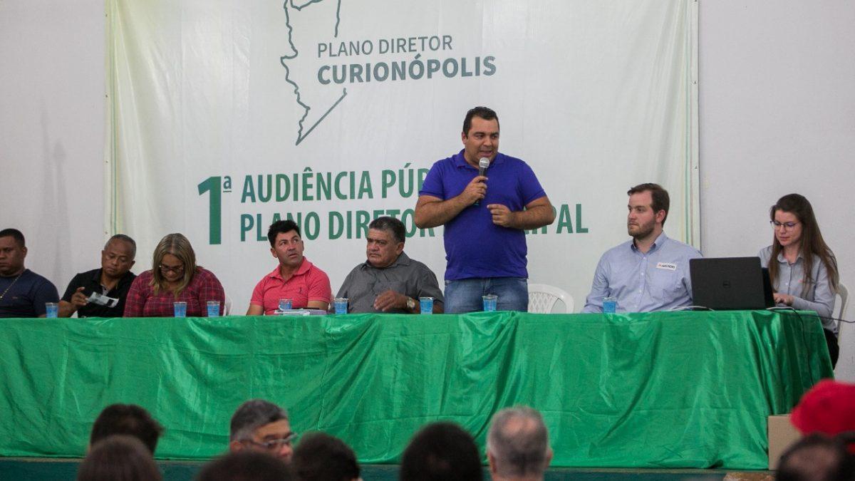 População participa da revisão de Plano Diretor em Curionópolis