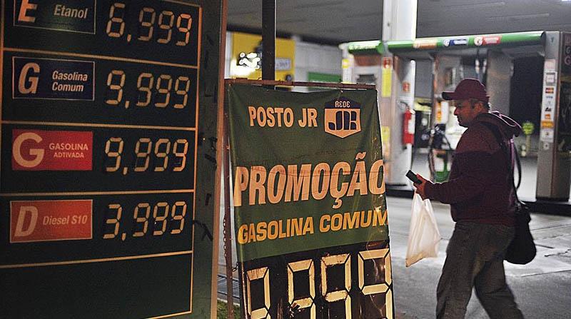 Petrobras eleva preço da gasolina a novo recorde nesta sexta (14)