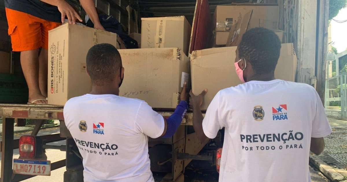 DEPEN doa 2.300 testes rápidos para a Secretaria de Estado de Administração Penitenciária do Pará