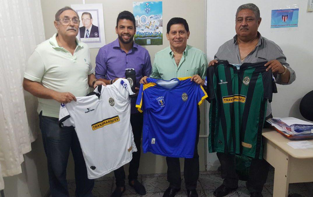 Rafael Lopes visita sede da FPF para tratar da parte de documentação do CAParaense