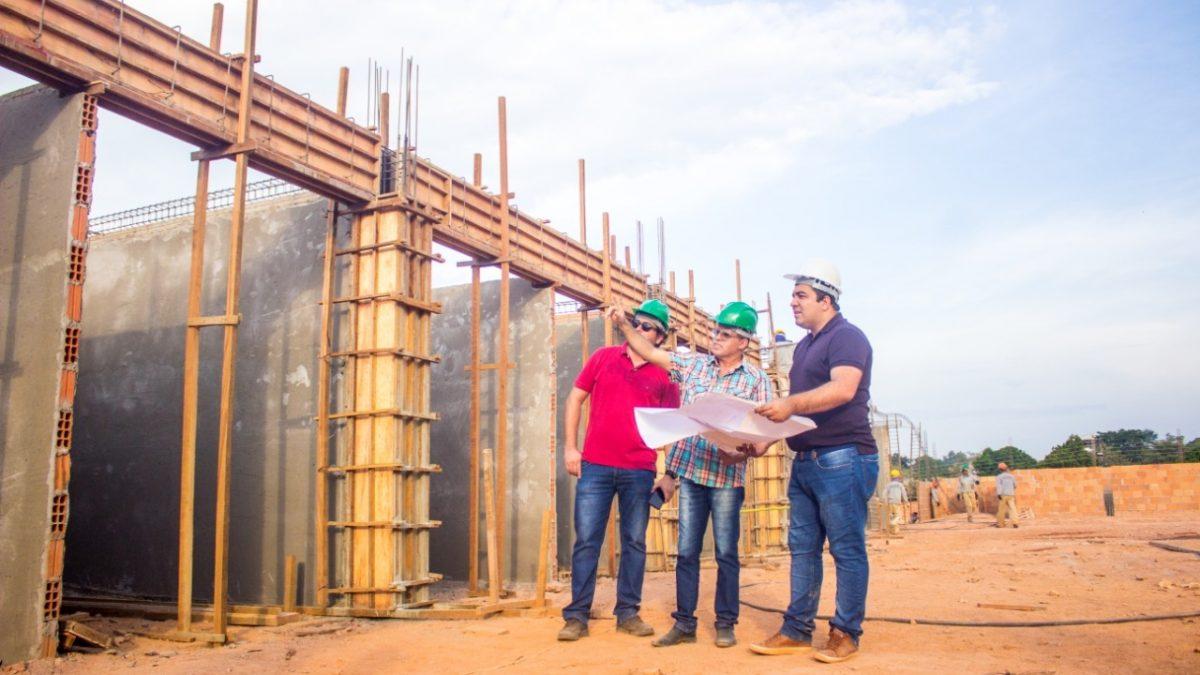 Obras no Mercado Municipal de Curionópolis avançam