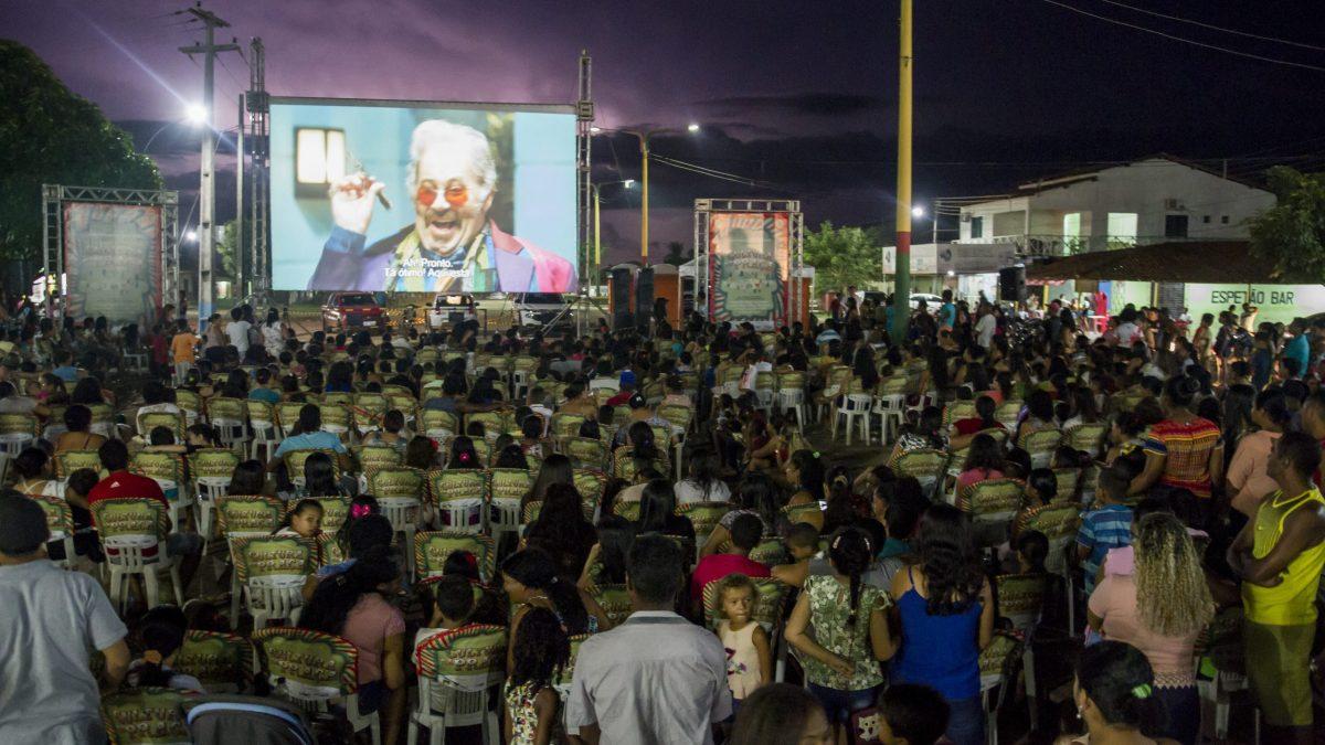 """Festival itinerante leva cinema gratuito """"ruas"""" de Parauapebas e Canaã dos Carajás"""