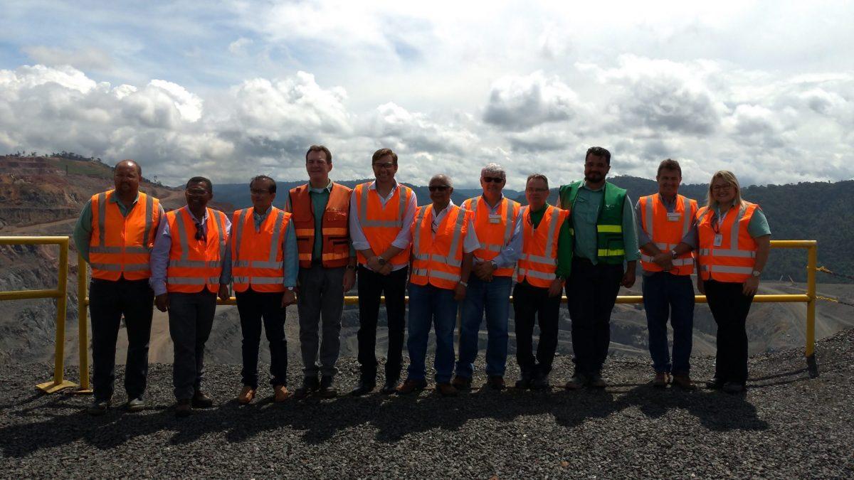 Associação Comercial e Industrial de Parauapebas visita unidade de cobre Salobo III