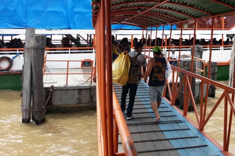 Embarcações de passageiros estão proibidas a partir desta quinta entre Pará e Amazonas