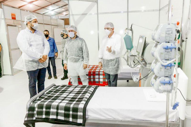 Governo do Pará entrega Hospital de Campanha com 120 leitos em Santarém