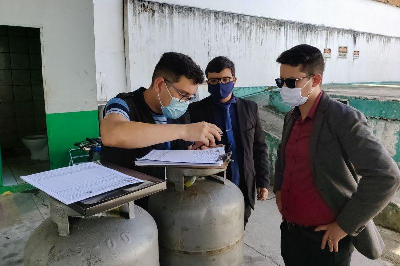 Procon fiscaliza distribuidoras de gás no Pará